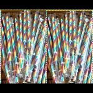 Starbucks Rainbow Straws (5 piece bundle)